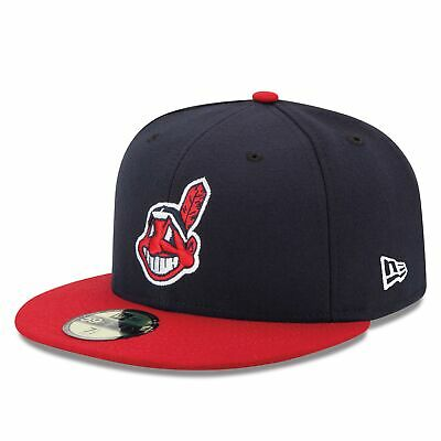 MLB Cleveland Indians New Era Authentic On Field 59FIFTY Fitted Cap Hat