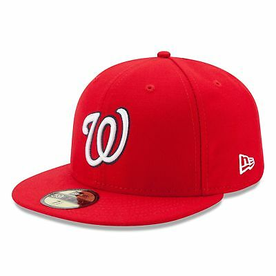 MLB Washington Nationals New Era Authentic On Field 59FIFTY Fitted Cap Hat
