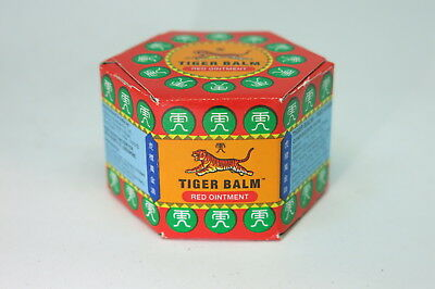Tiger Balm Red Herbal Relief from Aches & Pains Genuine Natural 9ML