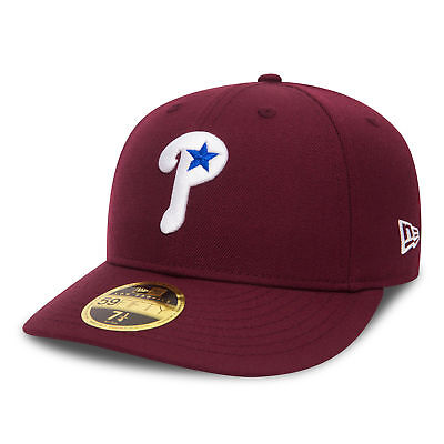 MLB Philadelphia Phillies Coop Culture New Era Wool 59FIFTY Fitted Cap Hat