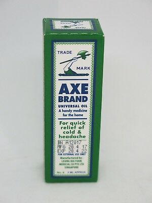 Axe Brand Universal Oil For Quick Relief of Cold & Headache 3ML X 5 Bottles