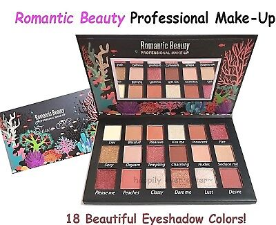 Romantic Beauty Tease Me Eyeshadow Palette *Authentic & USA SELLER* NEW