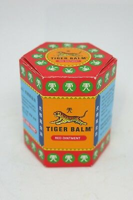 Tiger Balm Red Warm Aches & Pains Relief Massage Ointment Balm 30 grams