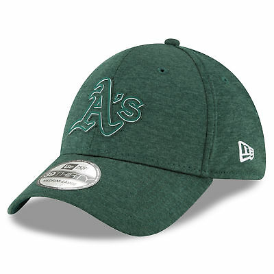 MLB Oakland Athletics New Era 2018 Clubhouse 39THIRTY Stretch Fit Cap Hat