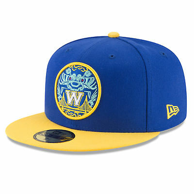 a421ade5 NBA Golden State Warriors New Era 59FIFTY City Edition Cap Hat Headwear Mens