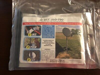 Q-Set 250-750 Satellite Dish Post Setting Cement Foam