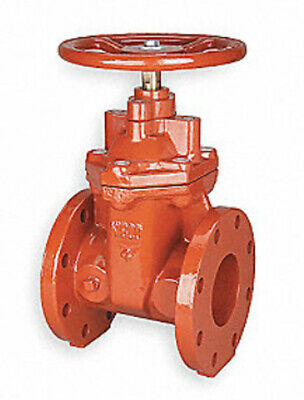 "NIBCO 3"" Gate Valve, Class 125 Ductile Iron, #F-619-RWS-HW"