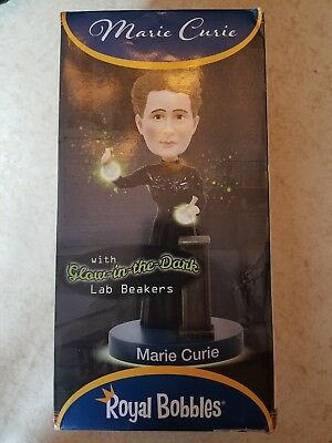 Marie Curie Royal Bobbles Bobblehead