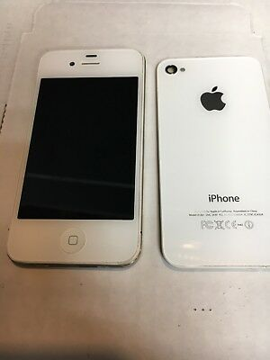 size 40 8a72e aeb7b IPHONE 4S A1387 Complete LCD Assembly Housing ( Original Apple ) White