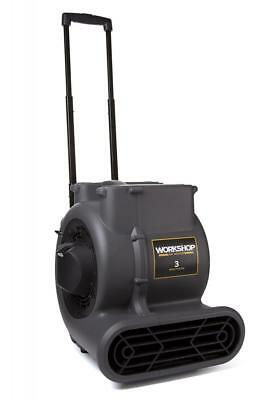 WORKSHOP WS1625AM Air Mover Fan & Carpet Dryer, High Velocity Blower / Floor...