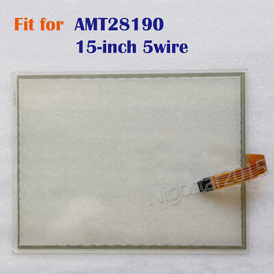 New 15-inch 5 wire Touch Screen Glass for AMT28190  AMT 28190  180 days Warranty