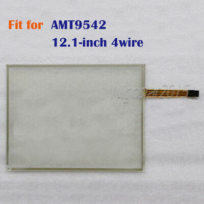 New 12.1-inch 4 wire Touch Screen Glass for AMT9542  AMT 9542  180 days Warranty