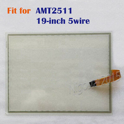 New Touch Screen Glass 19-inch 5 wire for AMT2511  AMT 2511  180 days Warranty