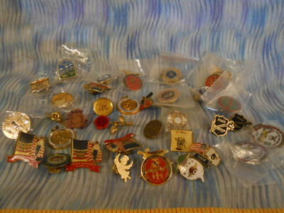 Large Lot of Masonic & Shriners Tie Tacks & Pins - New and Pre-Owned