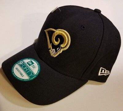 new styles 13cf9 ed0e5 Los Angeles Rams New Era The League 9FORTY Adjustable Hat Black  FAST  SHIPPING