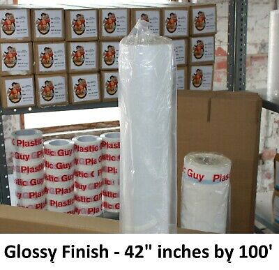 """Inkjet Poly Banner Film - 42""""x100' Roll (Epson Canon HP) Water-Based Glossy"""