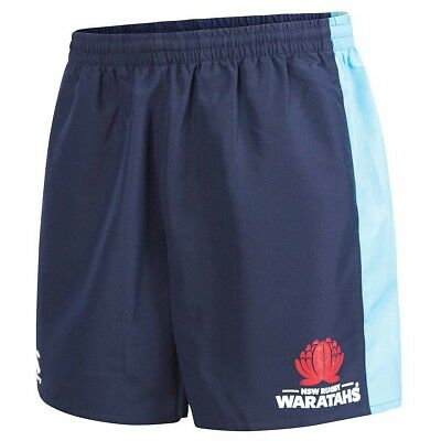 NSW Waratahs 2018 Panelled Tactic Shorts KIDS Sizes 6 - 12