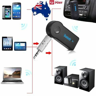 3.5mm AUX to Bluetooth Car Audio Stereo Music Home Car Receiver Adapter Wireless