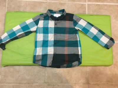 Burberry Children Camber Check Print Shirt -Baby/Boys Size 3Y