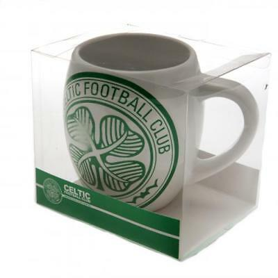 Celtic Fc Tea Tub Mug Cup Coffee Ceramic In A Clear Acetate Gift Pack New Xmas