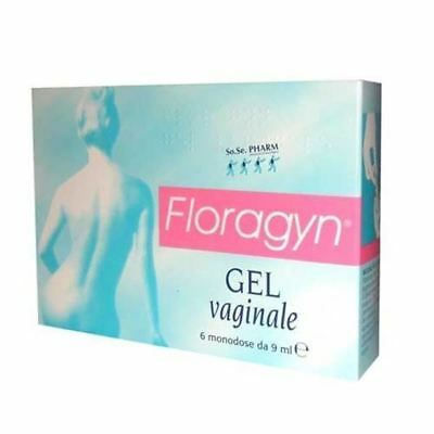 Floragyn gel vaginale-Protecting vagina from damage & dryness-6 tubes