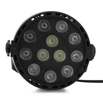 12 LEDs RGBW Mixing Par Lamp 8CH Voice Activated Light for Stage Party 12W