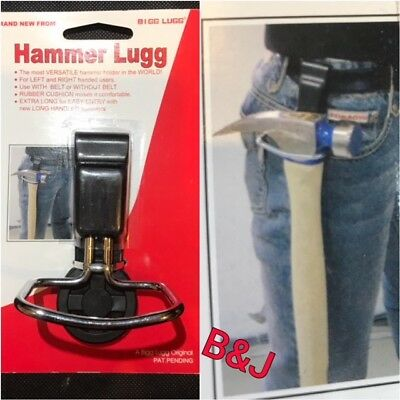 Hammer Lugg Holder Belt Clip Tool Holding Building Carpentry Bolster Tools Handy