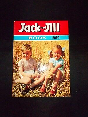 Jack And Jill Book 1964 Vintage Children's Annual V.G.C