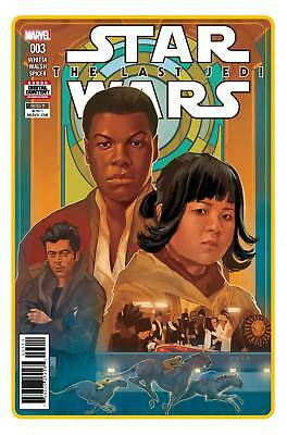 Star Wars Last Jedi Adaptation #3 (Of 6) - Marvel - Release Date 06/06/18
