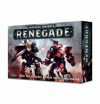 Imperial Knights Renegade (Deutsch) Warden Paladin Errant Knight Games Workshop