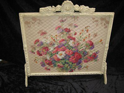 Ornate Antique Fireplace Screen