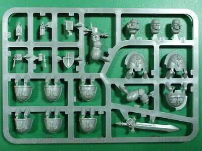 SPU14 TETE UPGRADE DARK ANGEL PRIMARIS SPACE MARINE WARHAMMER 40000 W40K BITZ 5