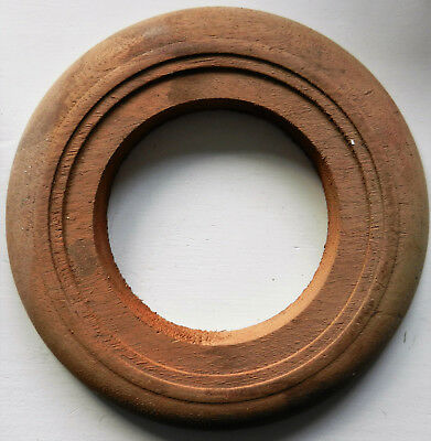 Mahogany Surround For Small Dial Clock