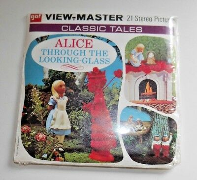 * Sealed * Alice Through The Looking Glass 1975 Viewmaster Reels B364 Rare  B351