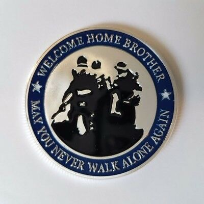 Welcome Home Brother Challenge Coin