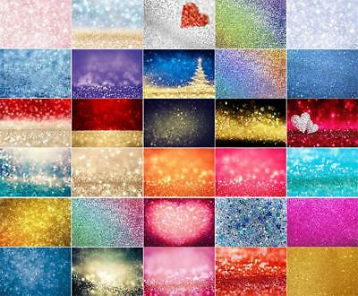 3x5/5x7ft Dreamy Glitter Haloes Photography Backgrounds Vinyl Studio Backdrops