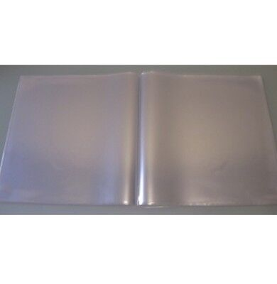 """20 12"""" Double Gatefold Double Glass Clear Pvc Strongest Record Sleeves Covers"""