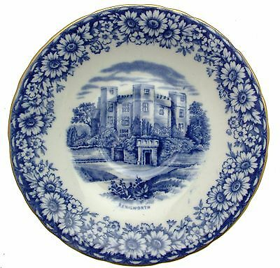 William Hudson Sutherland Historical Britain Blue 5 Inch Saucer only