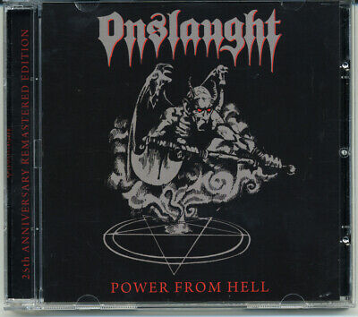 """Onslaught """"Power From Hell"""" 1995, CD"""
