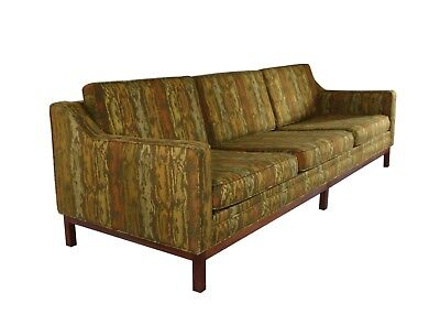 Vintage MCM Mid Century Modern Sofa Couch And Lounge Chair Set, Jens Risom  Style