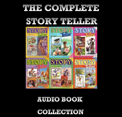 Story Teller Complete Audio Book Collection MP3 & PDF 4 DVD's MARSHALL CAVENDISH