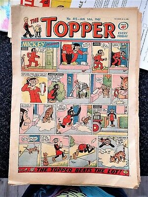 THE TOPPER # 415 January 14th 1961 Comic