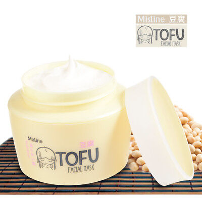 Japanese Tofu Facial Natural Youthful Radiance brightening Mask Cream 45g