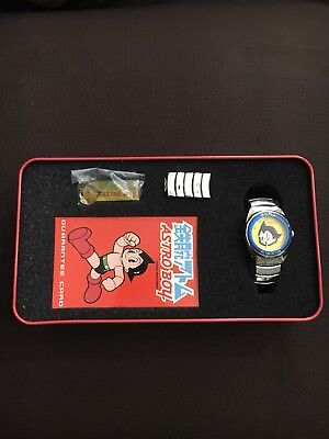 Vintage Astro Boy astroboy Collectible Analog Watch By Tezuka Prouductions
