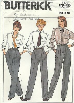 Butterick 6879 Misses' Proportioned Pants     Sewing Pattern