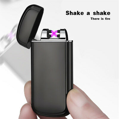 Electric USB Lighter Arc Rechargeable Plasma Flameless Cigarette Windproof US