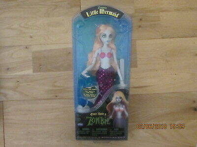 """Once Upon A Zombie (Time) Little Mermaid Doll Wow Wee Not Disney Barbie New 11"""""""