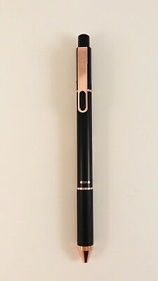 Tul Retractable Pen Ballpoint Black Rose Gold Limited Edition Med 1.0 BP Series