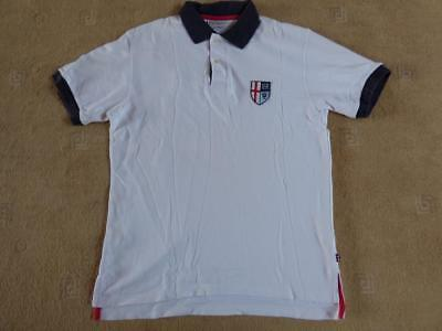 99f866da8 HACKETT OF LONDON England World Cup football polo shirt. Size Medium -  £0.99