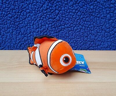 Disney Finding Dory Nemo Plush Beanie Bandai Brand New With Tags